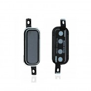 Home Black Button Switch Part For Samsung Galaxy Note 2 II N7100