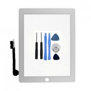 Touch Screen Digitizer Front Display White For iPad 2