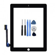 Touch Screen Digitizer Front Display Black For iPad 3