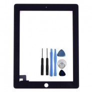 Touch Screen Digitizer FrontDisplay Black For iPad 2