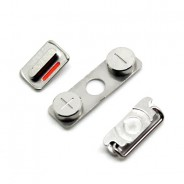 External Outside Power/Volume/Mute Button Sleep Hold For iPhone 4S