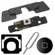 5 in 1 Internal Outside Home Button Keypad Bracket Black For iPad 2