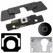 5 in 1 Internal Outside Home Button Keypad Bracket Black For iPad 3