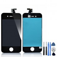 LCD Screen And Digitizer Display Assembly Black For iPhone 4S