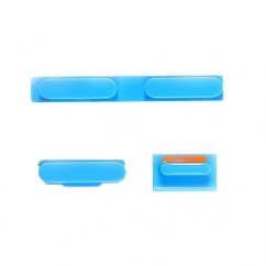Blue Volume Power Mute Switch Button Set Kit Part For iPhone 5C