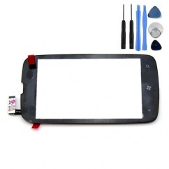 Touch Screen Glass Digitizer Black For Nokia Lumia 610