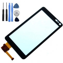 LCD Touch Digitizer Display Pad Panel Front Black For Nokia N8 + Tools
