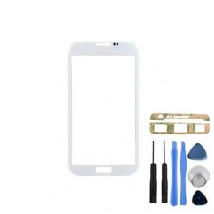 Front Glass White Cover + Tool Adhesive For Samsung Galaxy Note 1 N7000 i9220