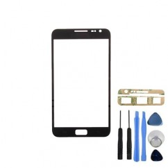Front Glass Black Cover Tool + Adhesive For Samsung Galaxy Note 1 N7000 i9220