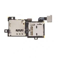 SIM + Memory Card Reader Tray Flex for Samsung Galaxy S3 GT-i9300