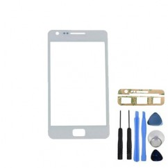 Front Outer Glass Cover + Tools Adhesive For Samsung Galaxy S2 i9100