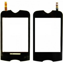 Touch Screen Black Digitizer Lens For Samsung S3370 S 3370 Corby