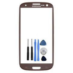 Front Top Brown Glass for Samsung Galaxy S3 i9300 Amber