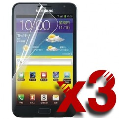 3 Pack of CLEAR Screen Protector for Samsung Galaxy Note 1 N7000 i9220
