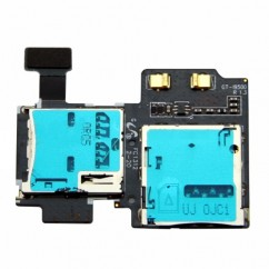 SD SIM Card Reader Holder Flex Cable For Samsung Galaxy S4 GT i9505