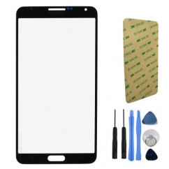 Front Screen Black Glass + Tools For Samsung Note 3 N9000 N9005