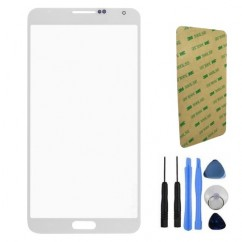 Front Screen White Glass + Tools For Samsung Note 3 N9000 N9005