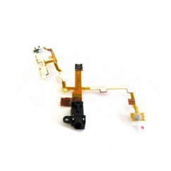 Audio Headphone Jack Assembly Volume/Vibrator Controls Black For iPhone 3G 3GS