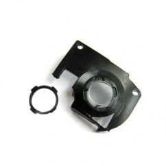 Camera Module Lens Cover With Chrome Ring For iPhone 3GS