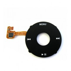 ClickWheel Black For iPod Classic 6th Gen