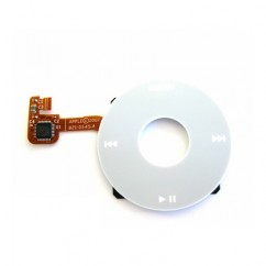 ClickWheel White For iPod Classic 6th Gen