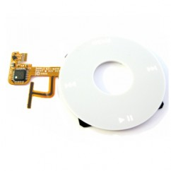 Click Wheel White For Apple iPod Video 5th Gen Audio Mp3 Part