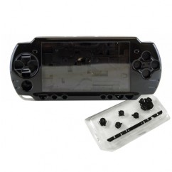 Housing Case In Black For Sony PSP 2000 Fix Mod