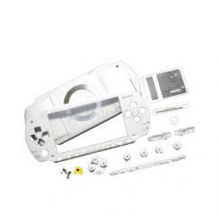Housing Case In White For Sony PSP 2000 Fix Mod