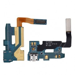 USB Charging Dock Port Flex with Mic For Samsung Note 2 N7100