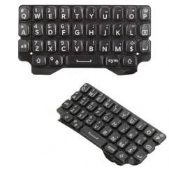 Black Keypad Keyboard Qwerty Buttons Replacement Part Fix For Blackberry Q5
