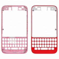 Red Housing Front Bezel Outer Frame Fascia Faceplate Replace For Blackberry Q5