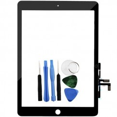 Black Touch Screen Digitizer Front Glass Lens Replacement For Apple iPad Air 5