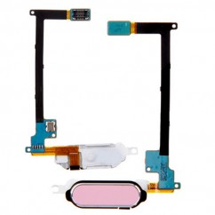 Pink Fingerprint Home Button Flex Cable Repair for Samsung Galaxy Note 4 N910