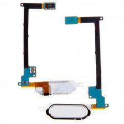 White Fingerprint Home Button Flex Cable Repair for Samsung Galaxy Note 4 N910