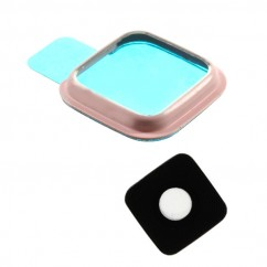 Pink Rear Camera Glass Lens Cover Ring Repair for Samsung Galaxy Note 4 N910