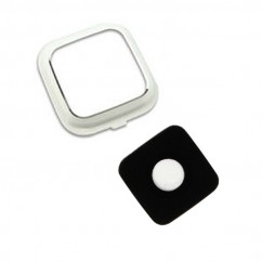 White Rear Camera Glass Lens Cover Ring Repair for Samsung Galaxy Note 4 N910