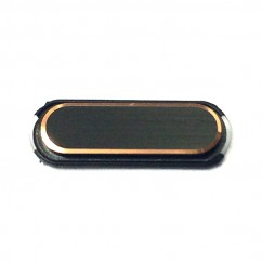 Black Gold Home Button Key Replacement Part for Samsung Galaxy Note 3 N9000 N9005