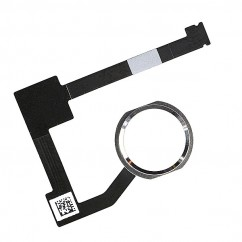 White Home Button Touch ID Flex Cable Replacement for iPad Air 2 iPad 6