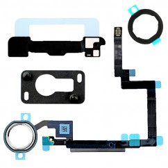 White & Silver Home Button Flex Cable Holder Camera Bracket for iPad Mini 3