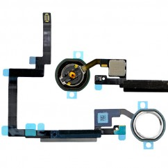 White Home Button Flex Cable Replacement Part Fix for Apple iPad Mini 3 Retina
