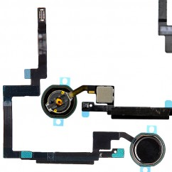 Black Home Button Flex Cable Replacement Part Fix for Apple iPad Mini 3 Retina