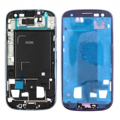 Blue Front Frame Bezel Chassis Replacement Part for Samsung Galaxy S3 III i9300