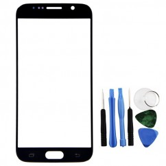 Black Front Glass Lens LCD + Tools for Samsung Galaxy S6 SM-G920F