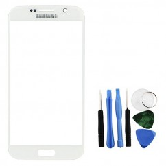 White Front Glass Lens LCD + Tools for Samsung Galaxy S6 SM-G920F