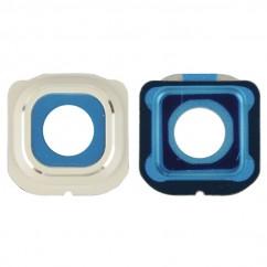 Camera Lens Cover Frame White for Samsung Galaxy S6 SM-G925F