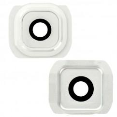 Camera Lens Cover Frame White for Samsung Galaxy S6 Edge G925F