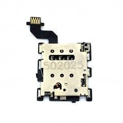 Sim Tray Card Slot Reader Holder Flex Cable For HTC One M8