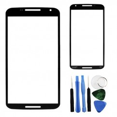 Outer Screen Lens Front Glass + Tools for Motorola Google Nexus 6 XT1100