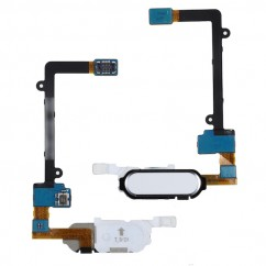 New White Home Button Flex Cable Fingerprint Sensor For Samsung Note Edge N915