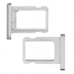"""Brand New Silver Nano Sim Card Tray Holder Silver Replacement For iPad Pro 12.9"""""""